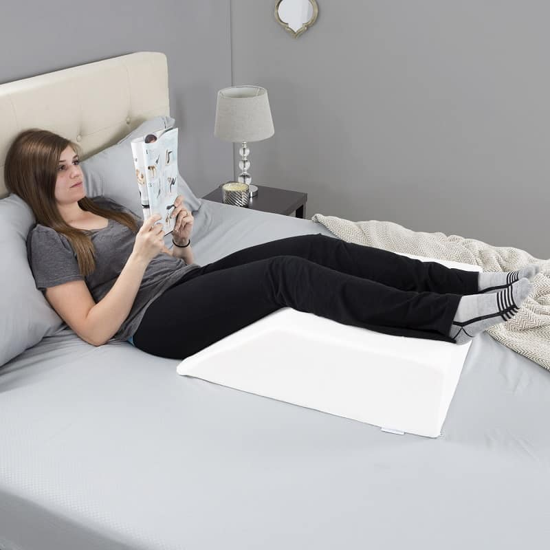 Bluestone Wedge Pillow for Elevated Support
